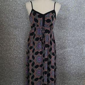 Modcloth Doe & rae maxi dress size xs